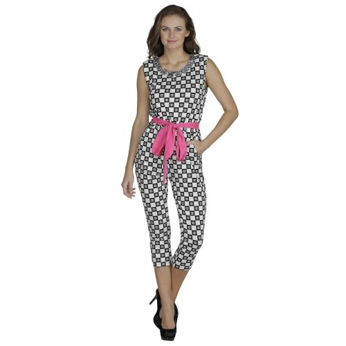 c1547fc66de Buy Svt Ada Collections Black   White Printed Jumpsuit online ...