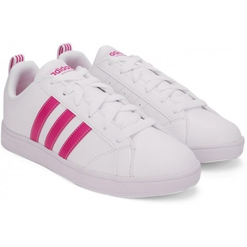 Buy Adidas Neo ADVANTAGE White & Pink Lace Up Women's