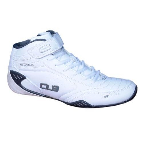 Buy Columbus White Low Ankle Round Toes
