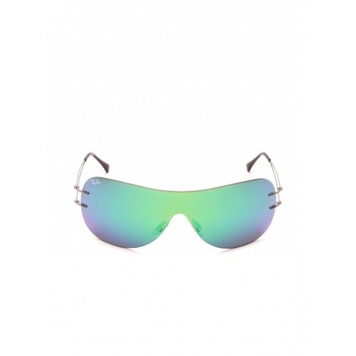 fcabd8c8da4dc Buy Ray-Ban Aqua Mirrored Shield Sunglasses 0RB8057159 3R34 ...