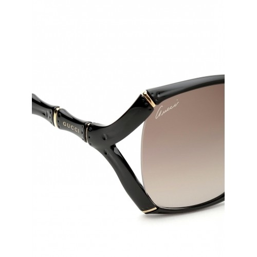 5aa3691f7a Buy Gucci Black Plastic Oversized Sunglasses GG 3508 S D28HA online ...