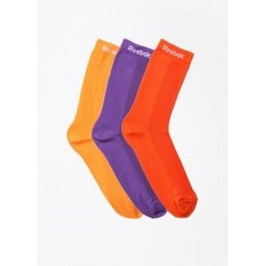 Reebok Multi-Color Solid Women's Socks