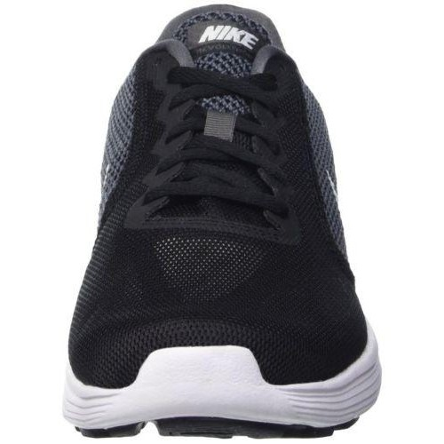 Nike Black Lace Up Low Ankle Mesh Men's Running Shoes ...