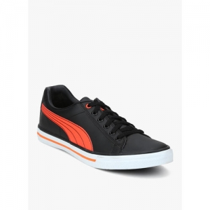 Puma Black Low Ankle Casual Shoes For Men