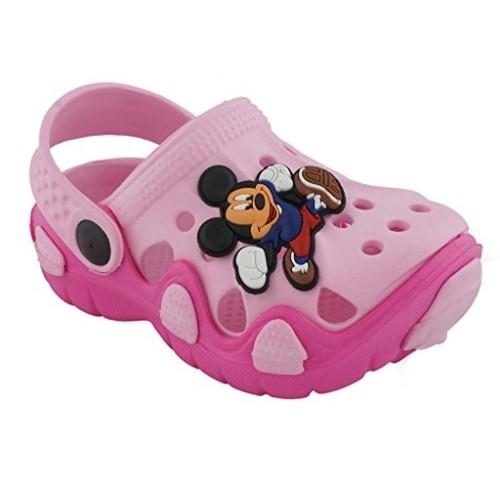 Lil Firestar Unisex Pink Eva Micky Mouse Clogs
