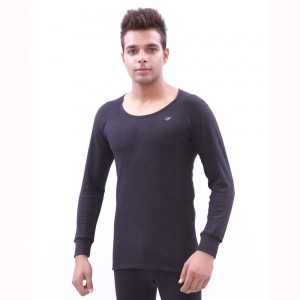 Neva Navy Blue  Solid Thermal T-Shirt