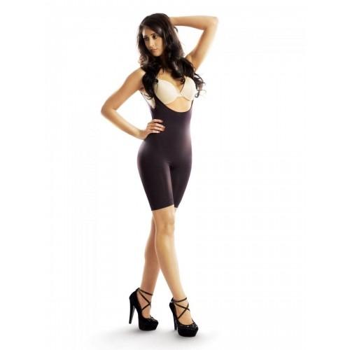 9a12c7d38fd59 Buy Swee Black Nylon Spandex Full Body Shapewear online