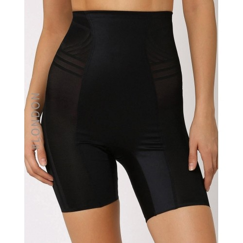 Marks & Spancer Black Polyamide Waist & Thigh Shaper
