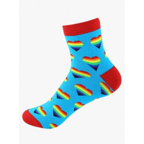 Supersox Pack Of 5 Multicoloured ed Printed Socks