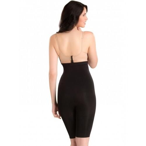 46db14502ad86 Buy Swee Black Nylon Seamless Tummy   Thigh Shaper online