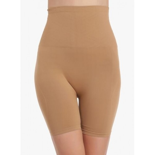 Clovia Brown Solid Shapewear