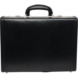 C Comfort EL461 Black Genuine Leather Briefcase
