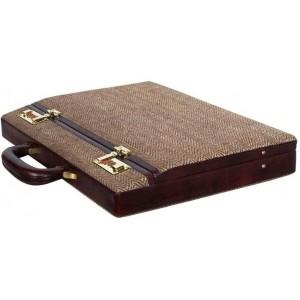 Clubb Maroon Eco Friendly Ultra Sleek Lambo Briefcase For Men