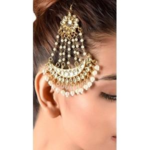 The Royal Kundan & Pearls Jhoomar Paasa