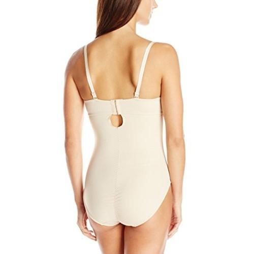 c721d49678 Buy Joan Vass Beige Silicon Bodysuit Shapewear online