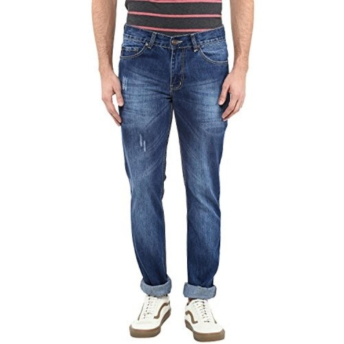 American Crew Blue Denim Straight Fit Jeans