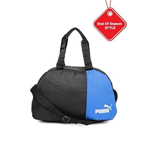 Buy Puma Black   Blue Polyester Holdall Duffel Bag for Unisex online ... c8e4e3c16d69a