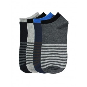 Tossido MultiColor Striped Printed Ankle Length Socks