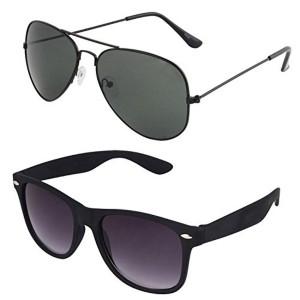 SHVAS UV Protected Combo Sunglasses