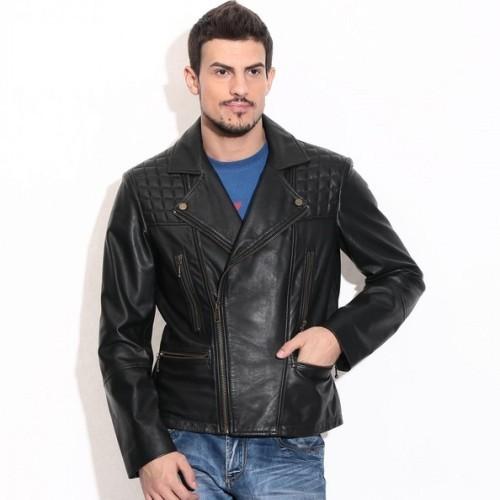 Theo&Ash Black Genuine Leather Jackets