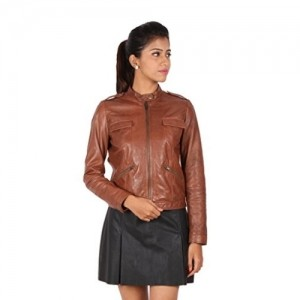 Top 9 Leather Jackets Brands for Women - LooksGud.in