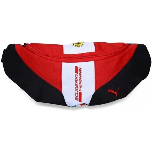 Buy Puma Black   Red Polyester Ferrari Fanwear Waist Bag online ... fc8269ffa2