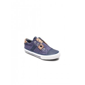 Mothercare Blue Canvas Solid Sneakers