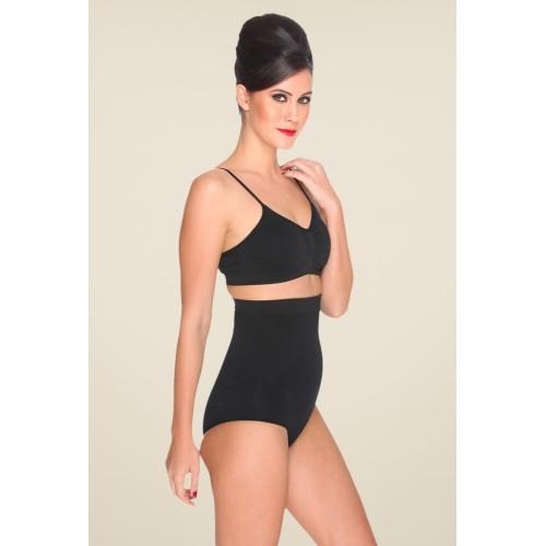 f208cd174a2 Buy C9 Black Polyamide Solid Tummy Tucker Shapewear online