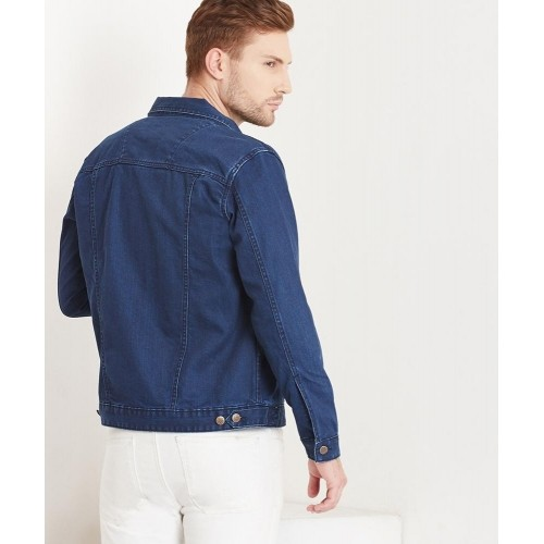 Yepme Blue Cotton Full Sleeves Alfred Denim Jacket