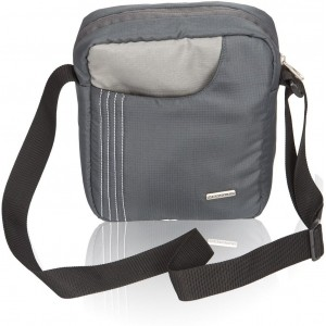 Cosmus Grey Polyester Sling Bag