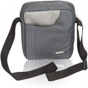 Cosmus Grey Polyester Sling Bag