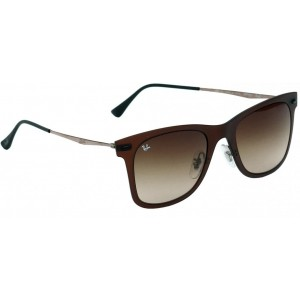 Ray-Ban RY672BR50 Brown Full Frame Wayfarer Sunglasses
