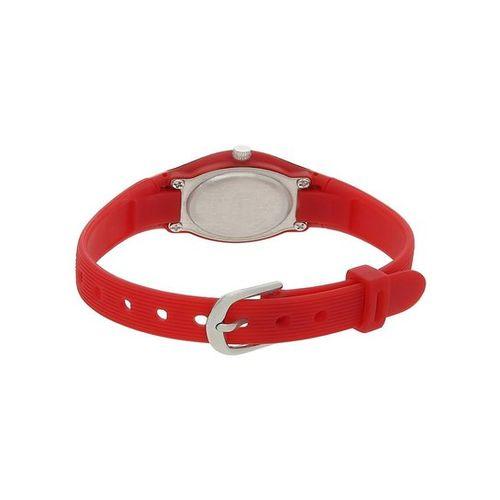 Sonata NH8989PP05J Pink & White Plastic Analog Watch