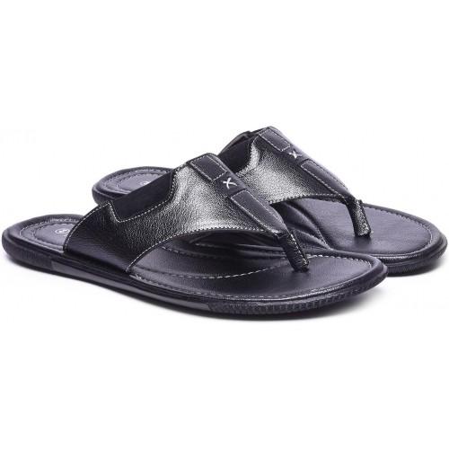 297363609355b8 Buy Andrew Scott Black Men s Slippers online