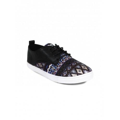 ... 20Dresses Women Black Printed Casual Shoes ...
