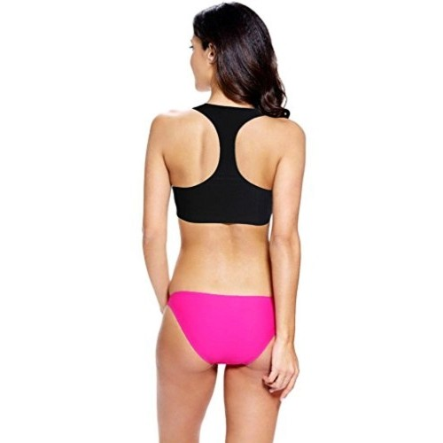 Findakera by Fasnoya Black & Pink Gypsy Tankini Swimsuit