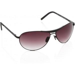 Fastrack M062BR3 Violet Aviator Sunglasses