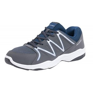 CAMPUS AUSTIN Grey & Green Color Sports Running Shoes
