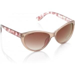 Fastrack P282PR2F Dusty Pink Cat-eye Sunglass