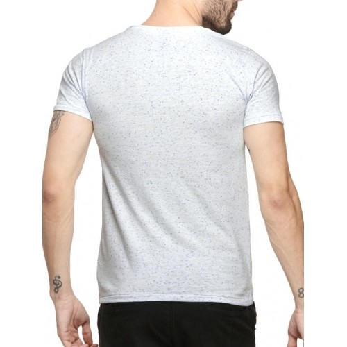 Mode Vetements White Printed Cotton T-shirt