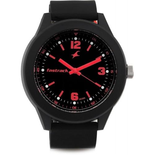 Fastrack NG38003PP05 Black Round Analog Watch
