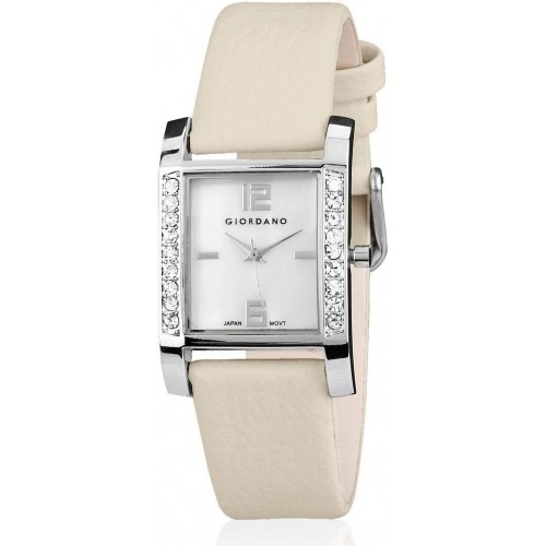 Giordano Cream Women's Analog Watch P9295