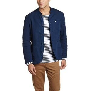 Van Heusen Blue Cotton Linen Slim Fit Blazer