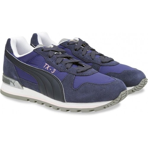 09ba06a67369ab Buy Puma TX-3 IDP Navy Blue Sports Shoes online
