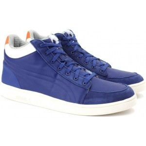 Puma MCQ SERVE Navy Blue Sneakers