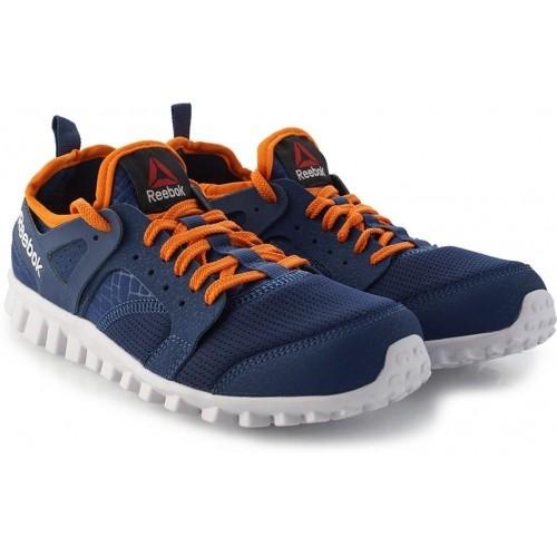 Reebok Dark Blue \u0026 Orange Color Lace