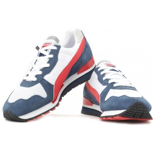 32a3a12233bbb5 Buy Puma TX-3 White   Navy Blue Sports Shoes online