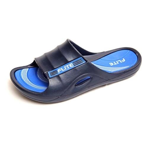 d864da5dcb3cc Buy Flite Men s Navy Blue and Blue House Slippers (FL-185) online ...