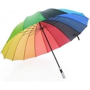Luggage Kart Jumbo Rainbow Umbrella