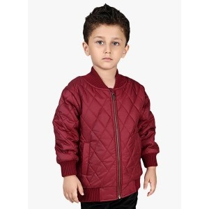 Beebay Maroon Winter Jacket for Kids